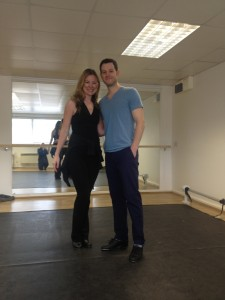 Matt Baker and Laura Frey